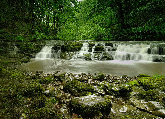 Falls, Brecon national park