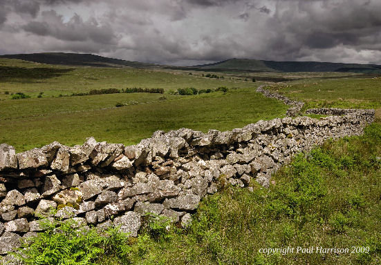 Stone wall, Brecon