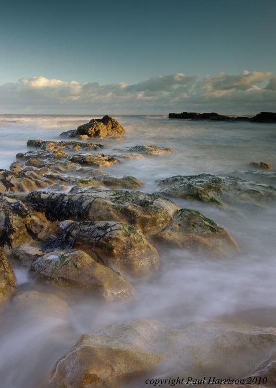 Rocks and sea, Hastings