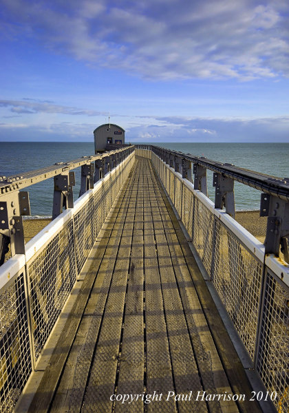 Selsey lifeboat station walkway
