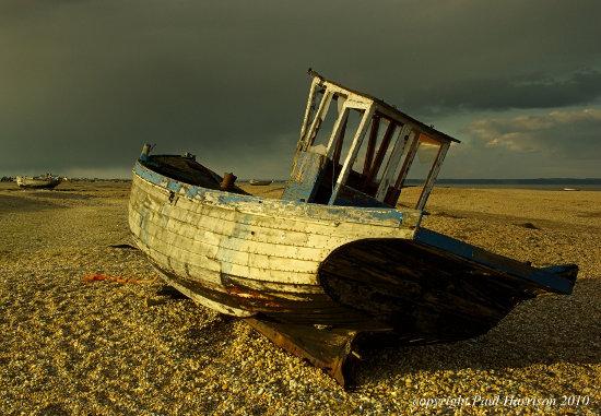 Old boat, Romney marsh